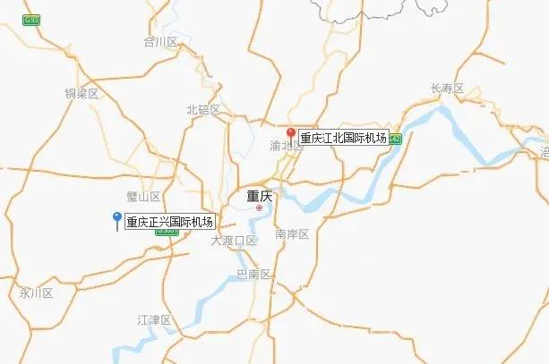 """""""双机场""""城市天团再添一员:重庆将新建4F级机场"""
