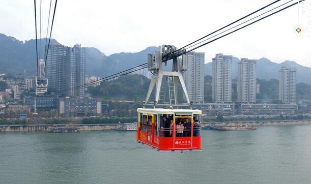 来重庆千万不能错过的旅游景点之长江索道。